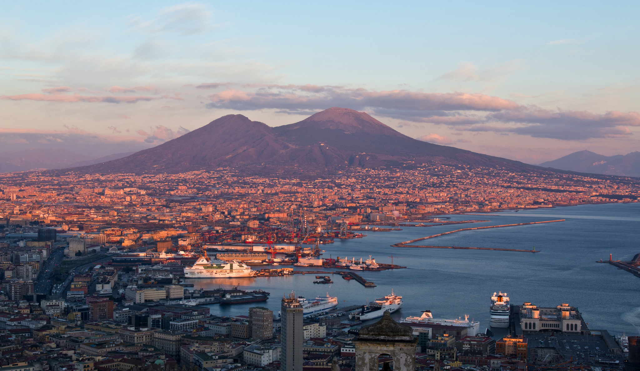 volcano mount vesuvius Vesuvius: mount vesuvius, active volcano near naples, italy, famous for its eruption in 79 that destroyed the roman cities of pompeii, stabiae, and herculaneum.