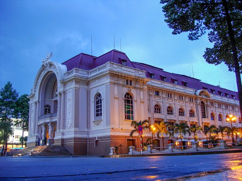 Municipal Theatre, Ho Chi Minh City