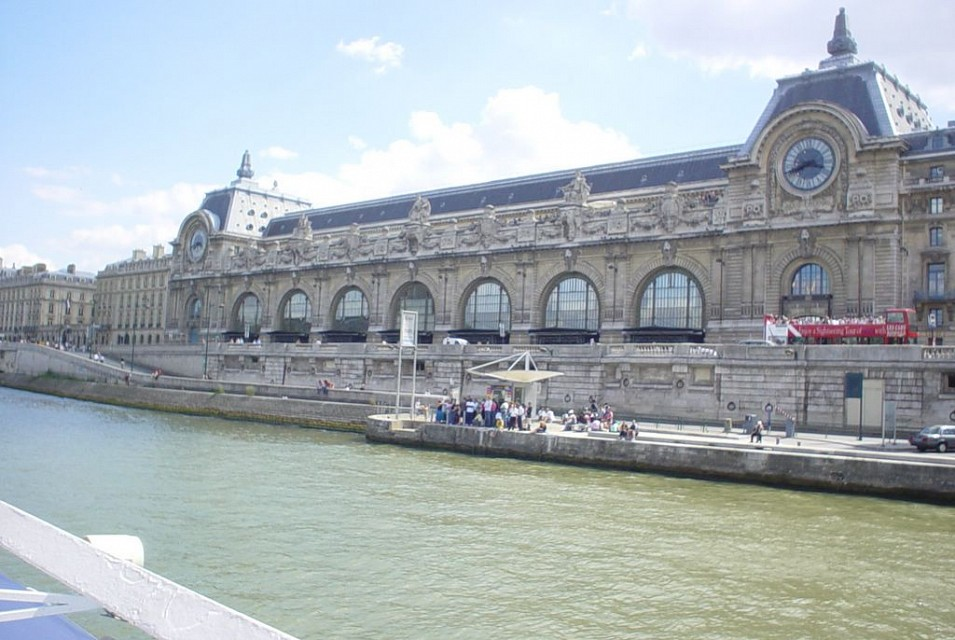 Musée D'Orsay from the boat - Musée d'Orsay