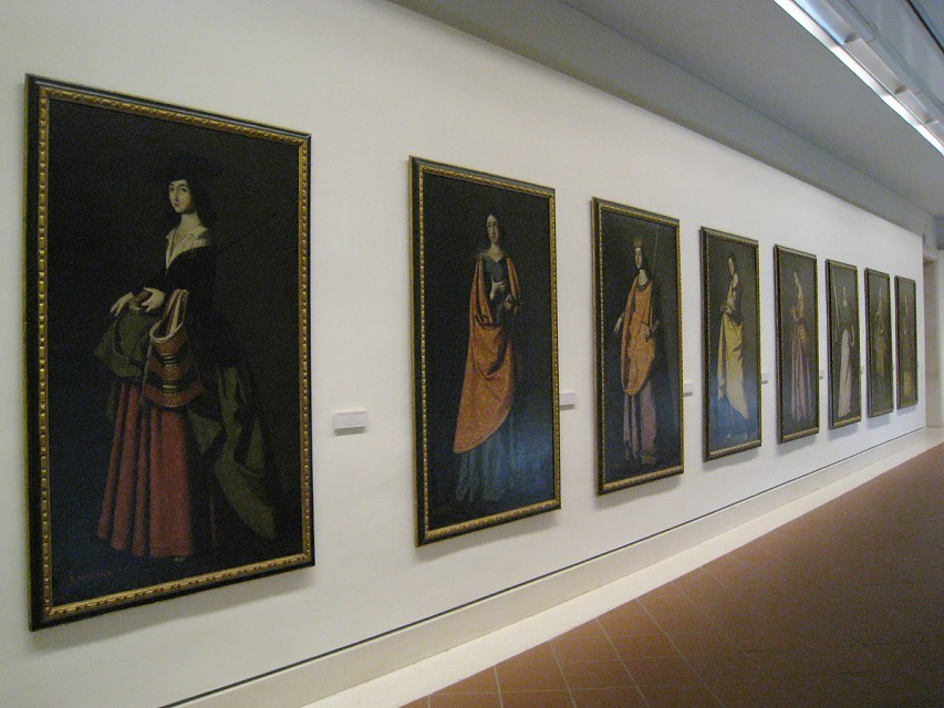 Paintings of Saints - Museum of Fine Arts of Seville