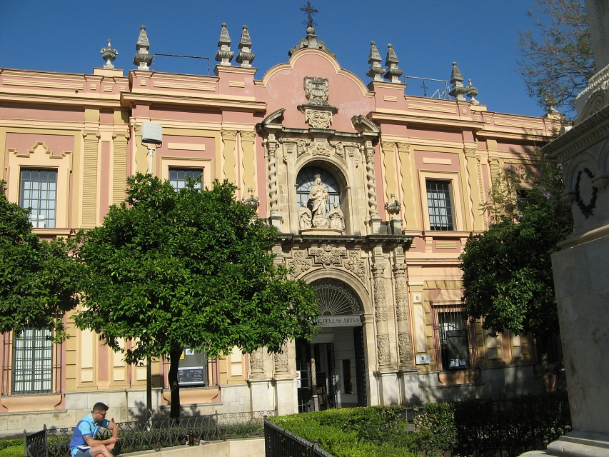 Museum of Fine Arts in Seville, Andaluzia - Spain - Museum of Fine Arts of Seville