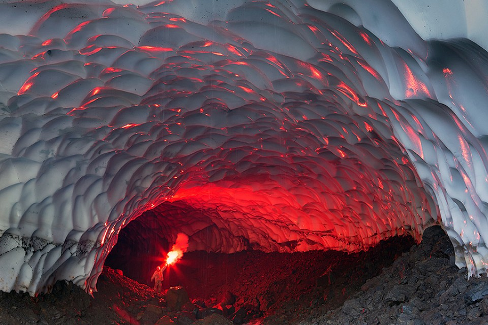 Fire Ice... - Mutnovsky Ice Cave