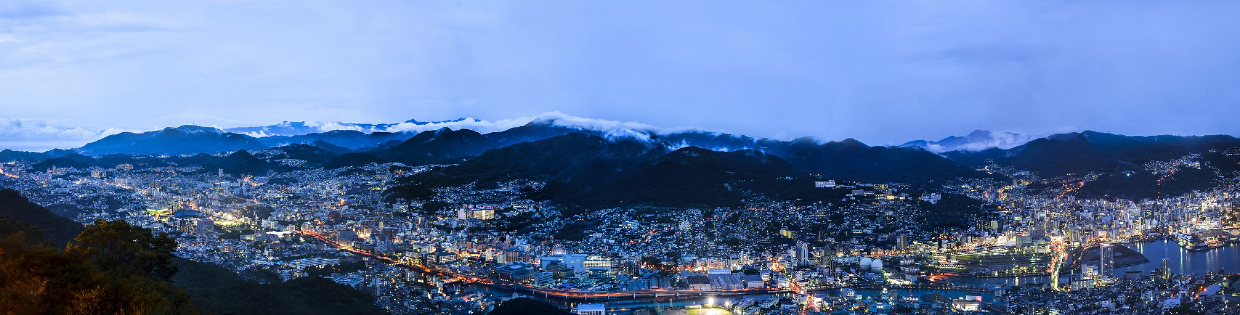 Panoramic View of Nagasaki City from Mount Inasa - Nagasaki