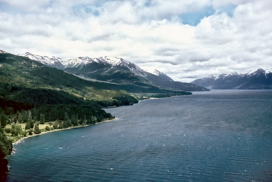 Lago Traful from high viewpoint - Nahuel Huapi National Park