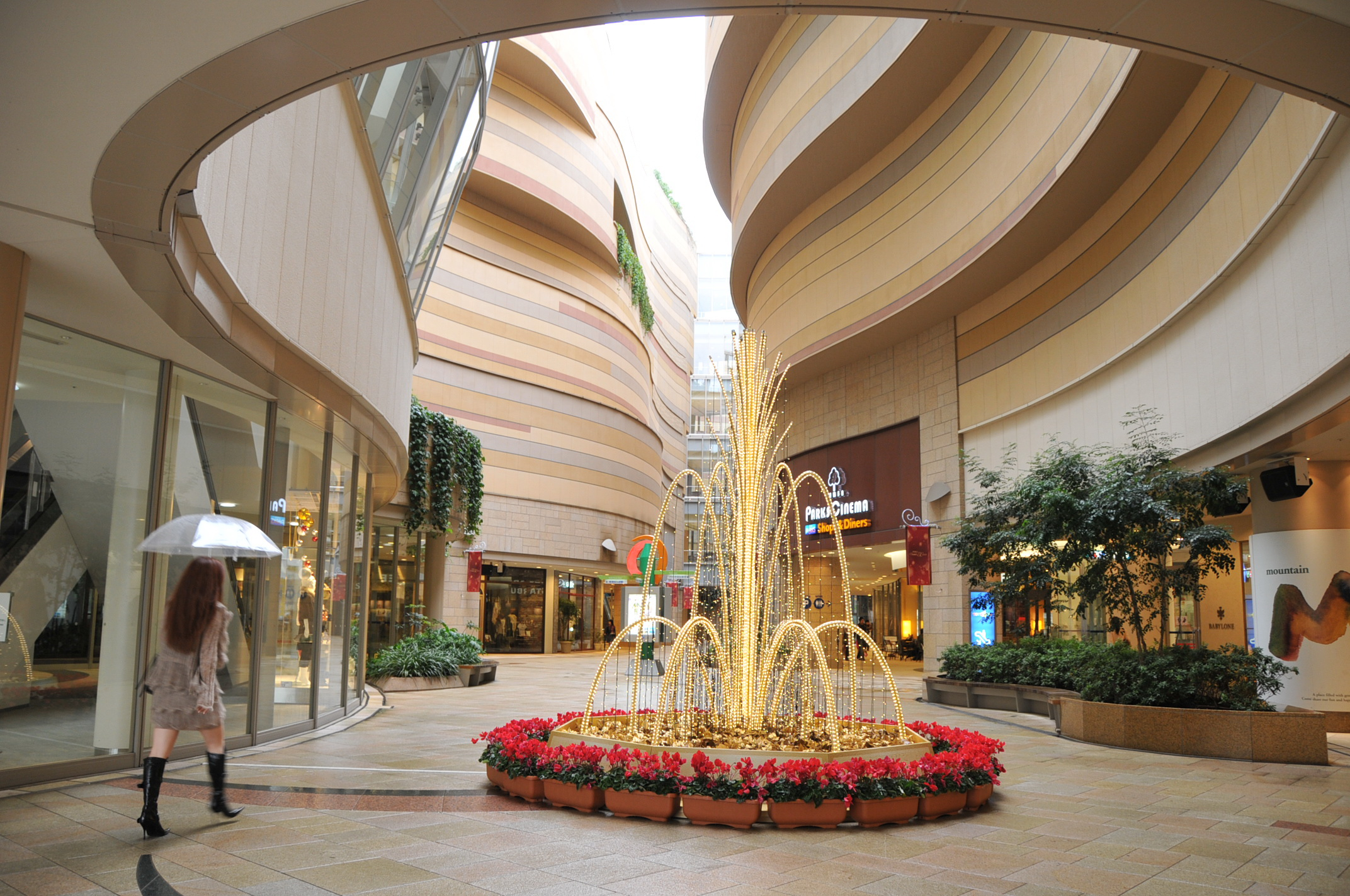 Namba Parks Shopping Mall In Osaka Thousand Wonders