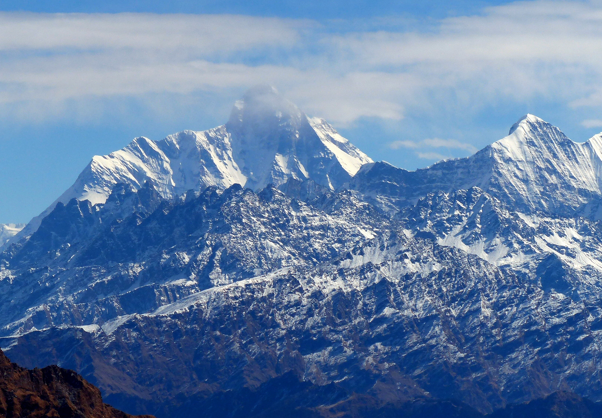 nanda devi mountain in uttarakhand thousand wonders