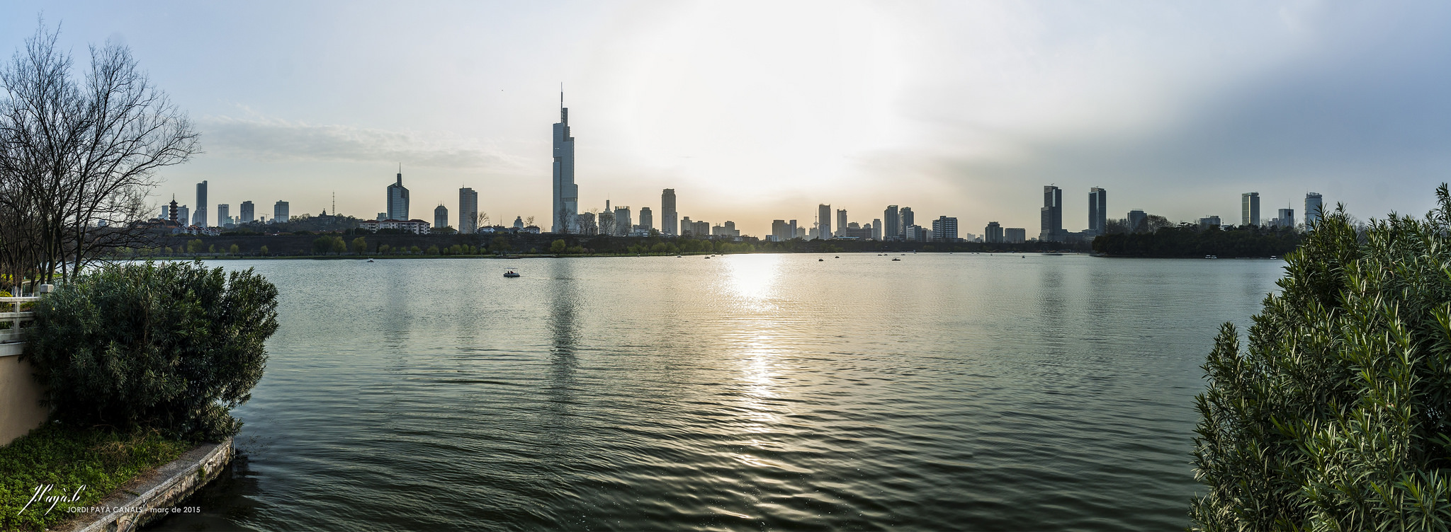 yet another skyline of Nanjing