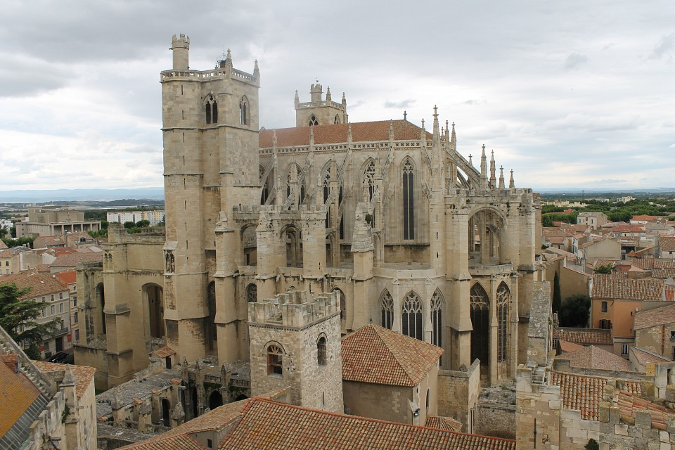 The Narbonne Cathedral. So majestic. - Narbonne Cathedral