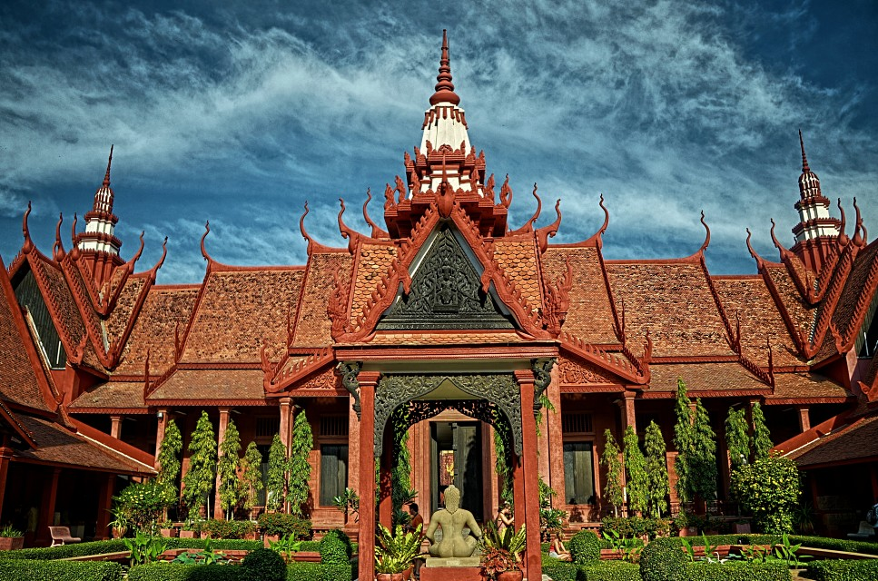Cambodia National Museum, Phnom Penh - National Museum of Cambodia