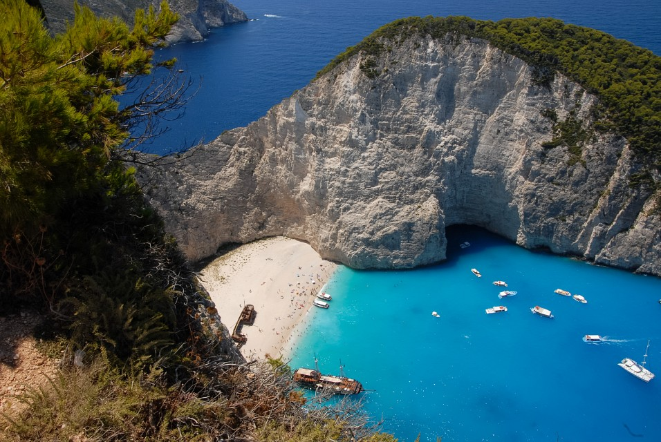 Navagio Beach From Above - Navagio