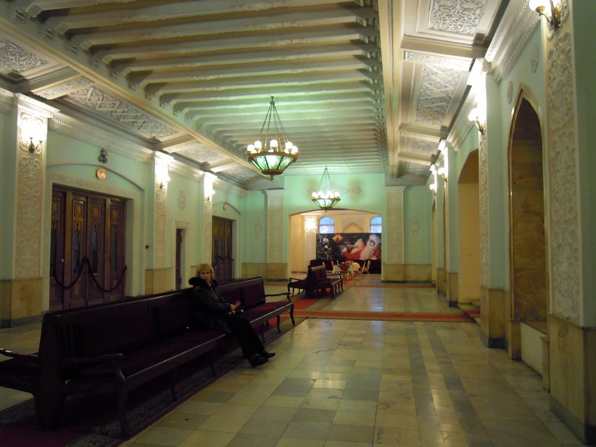 Lobby of the Alisher Navoi Opera and Ballet Theatre - Navoi Theater