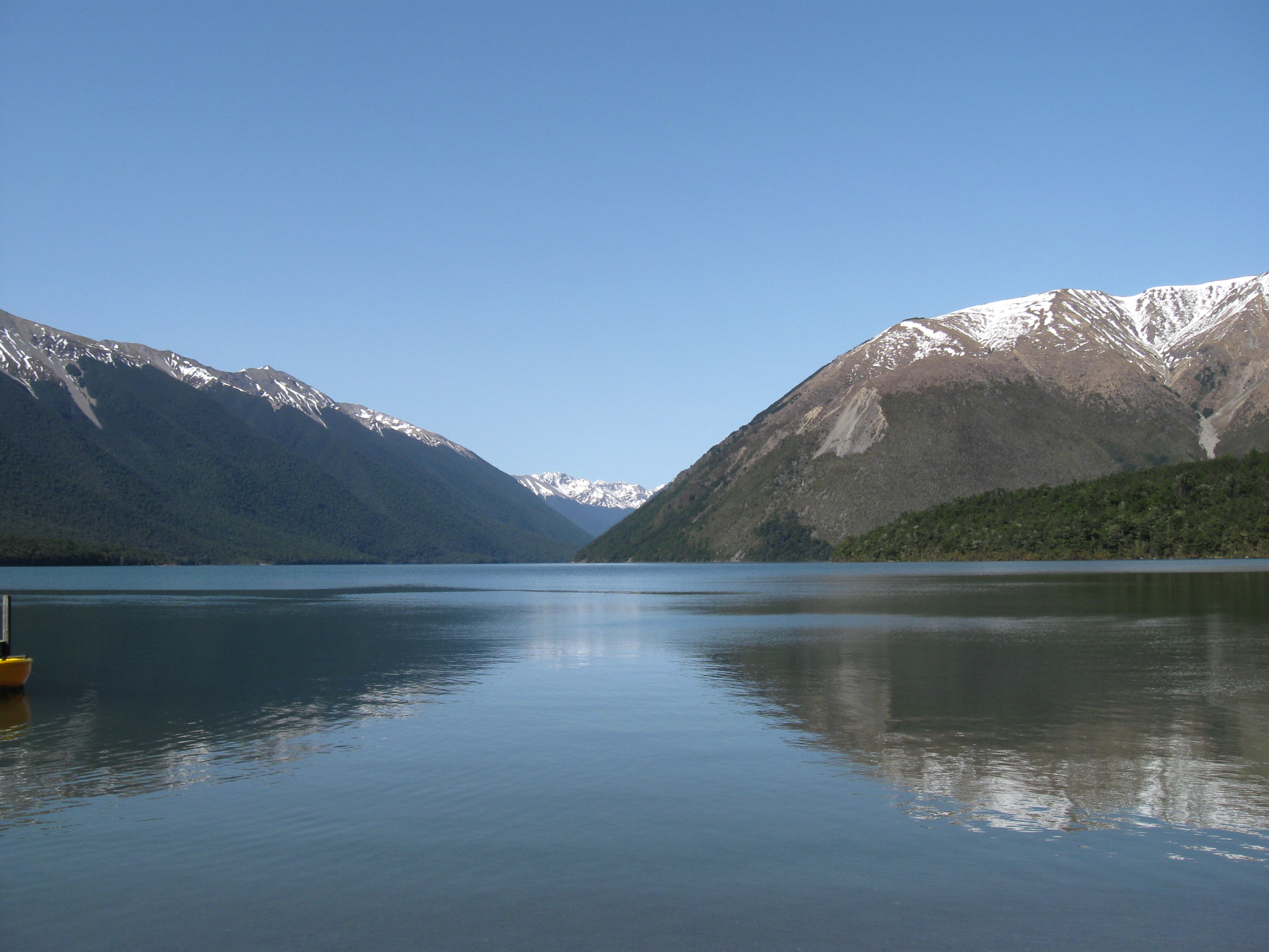 nelson lakes national park   national park in new zealand