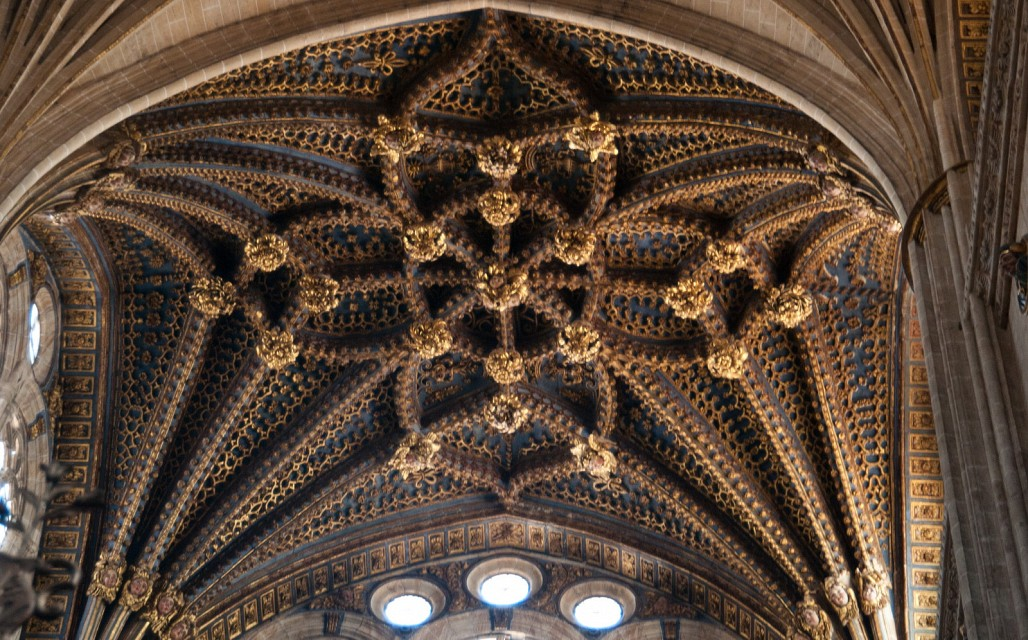 New Cathedral dome - New Cathedral Salamanca