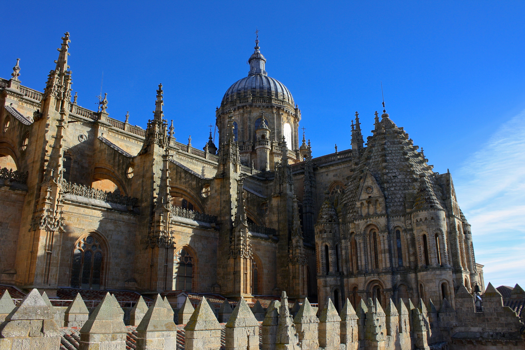New cathedral salamanca church in salamanca thousand - On salamanca ...