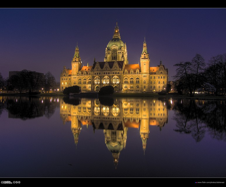 Neues Rathaus Hannover (2/3) - New Town Hall Hanover