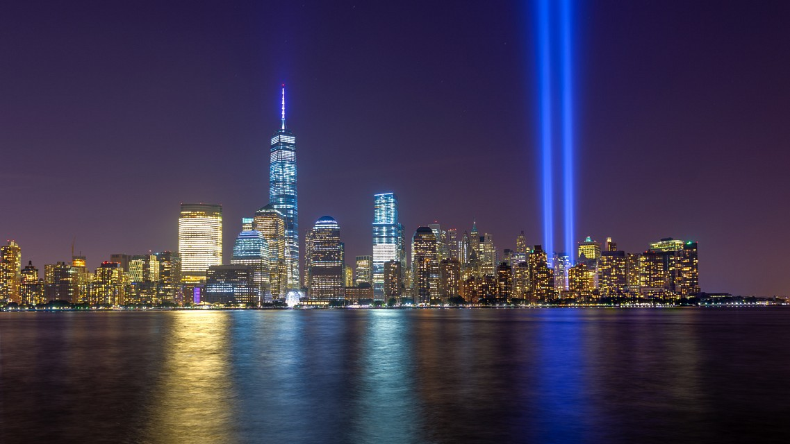 Tribute in Light 2014 - New York