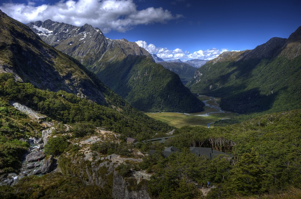Routeburn Valley - New Zealand
