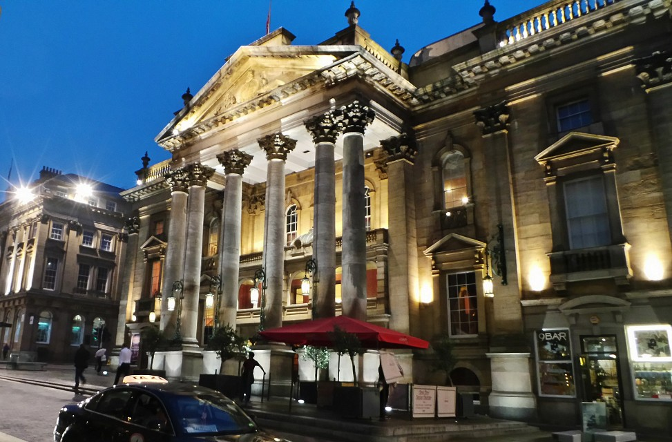 Newcastle by Night - Sept 2014 - The Theatre Royal - Newcastle upon Tyne