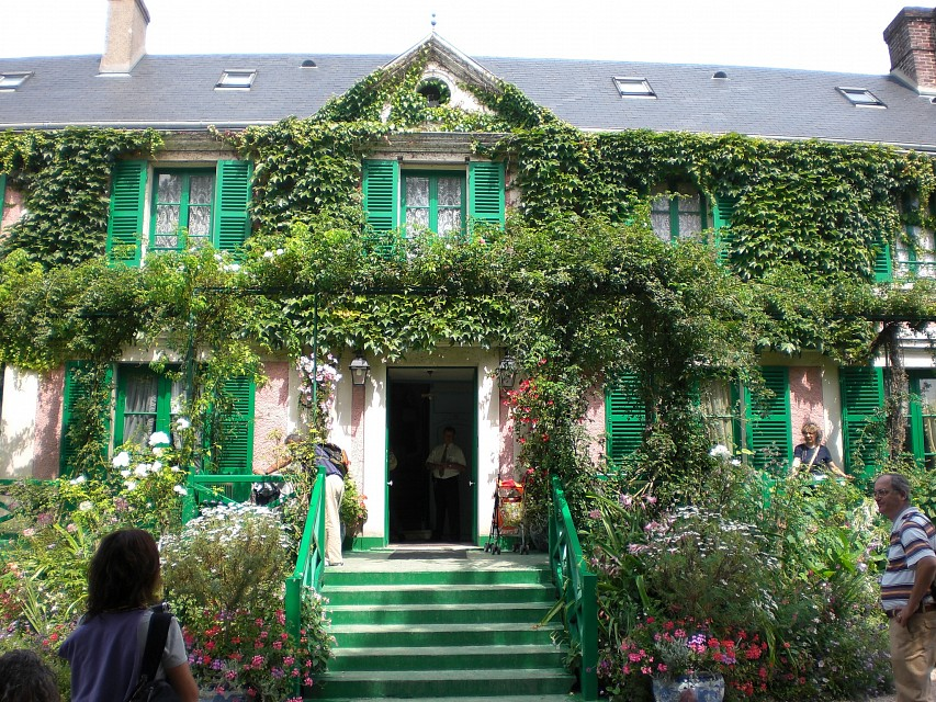 Monets House1, Giverny - Normandy