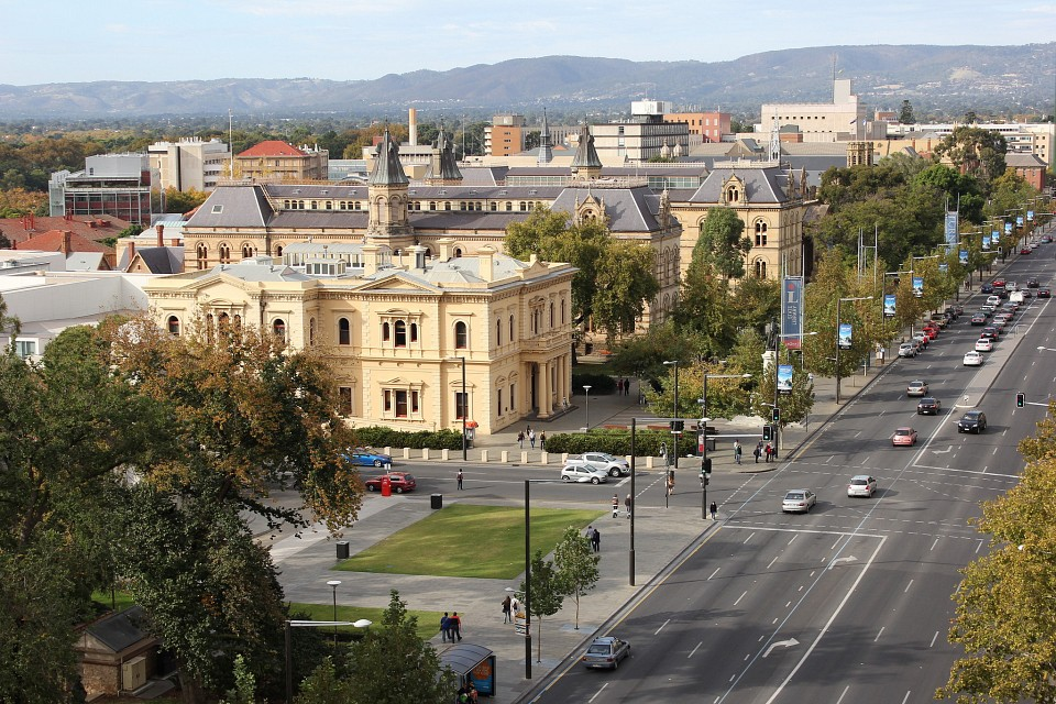 Adelaide City In South Australia Sightseeing And