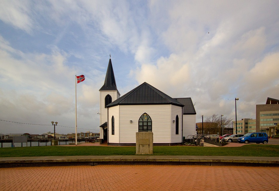 Norwegian Church and Arts Centre, Cardiff Bay - Norwegian Church