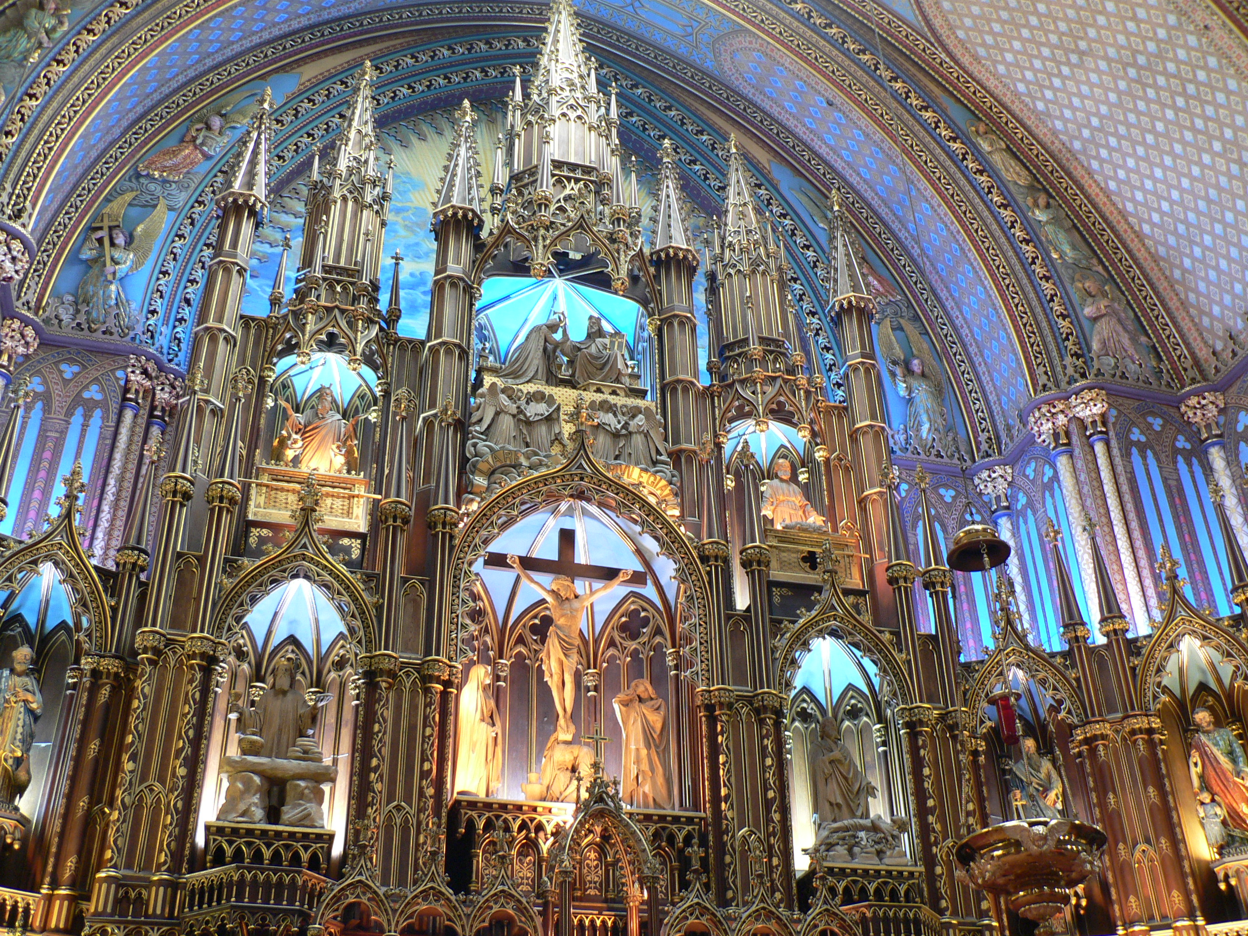Notre Dame Basilica De Montreal Church In Montreal Thousand Wonders