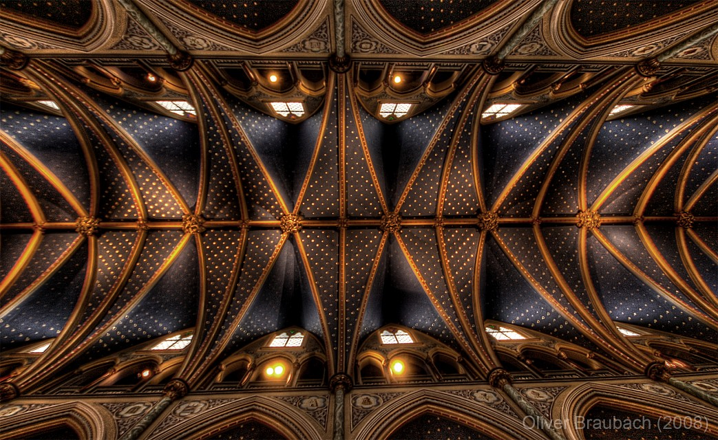Notre Dame Ceiling - Notre-Dame Cathedral Basilica Ottawa