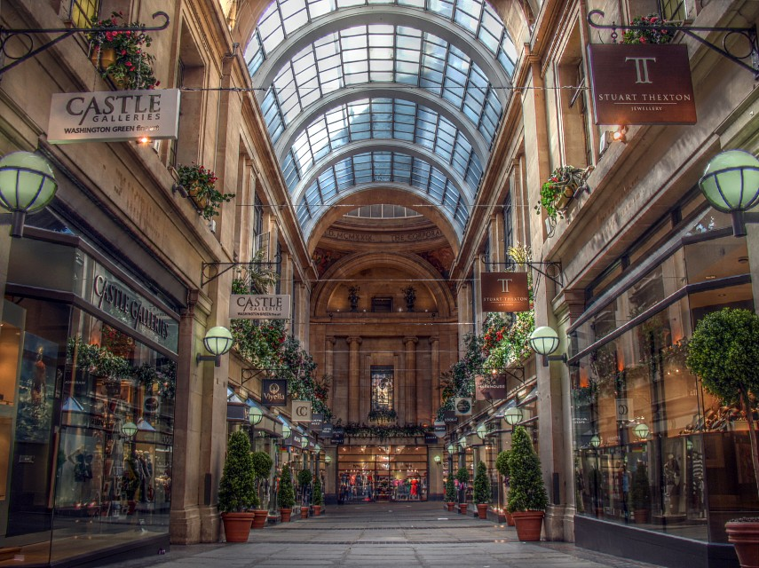 Exchange Arcade, Nottingham - Nottingham
