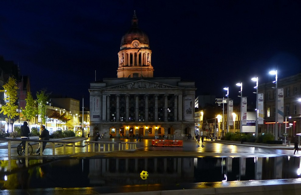 02 Nov 2014 Nottingham Flooded Football (2) - Nottingham Council House