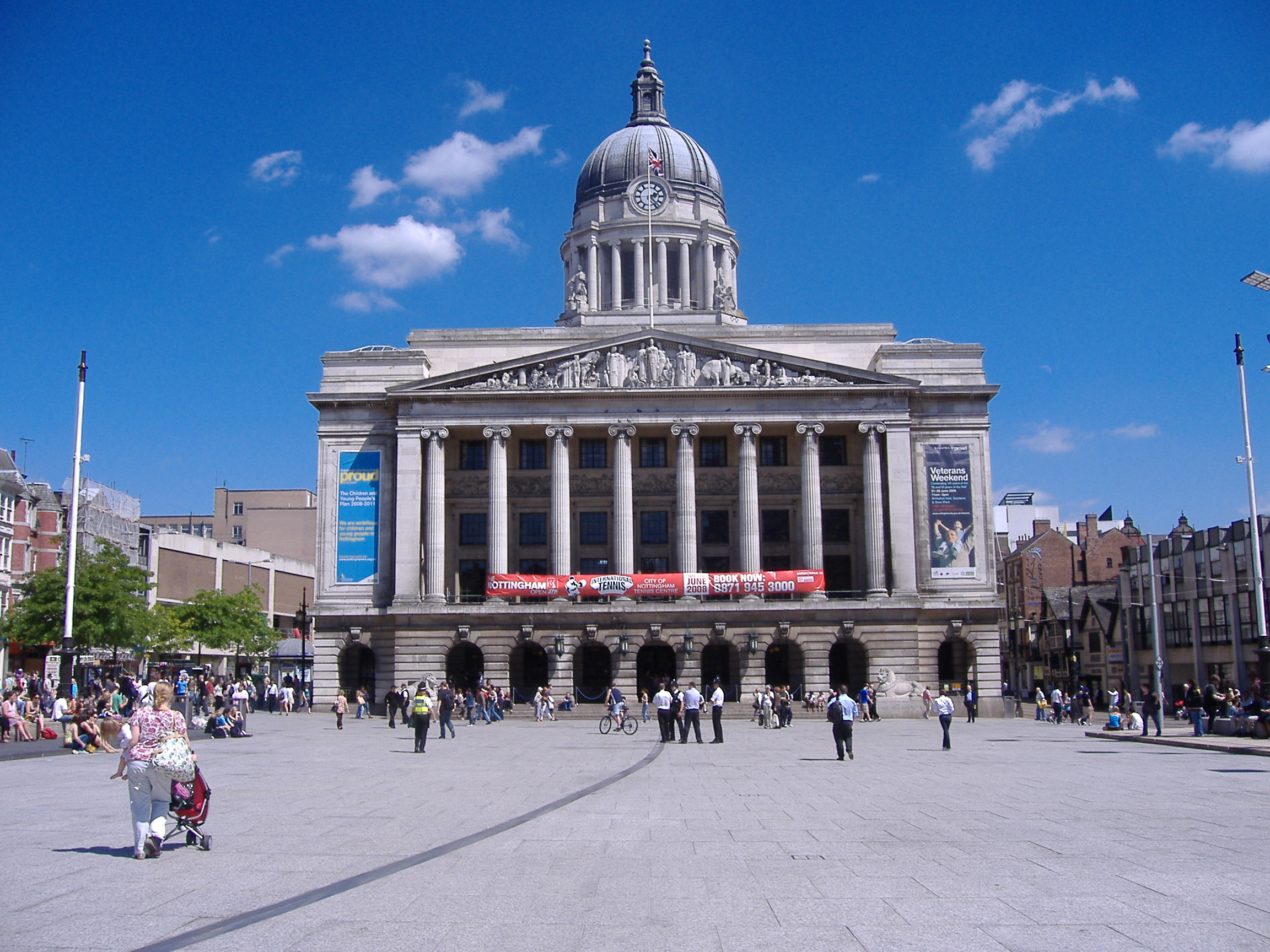 Nottingham council house city hall in nottingham for Country house com