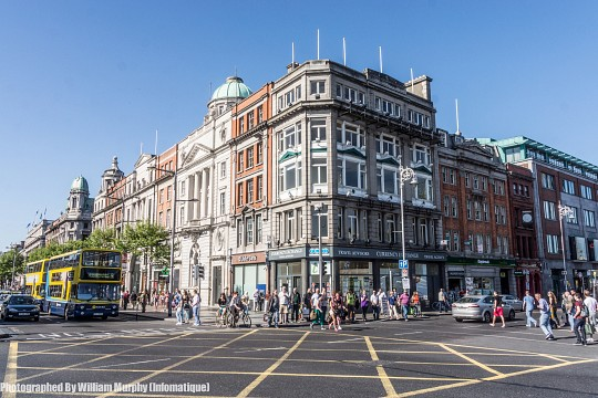 The Main Street In Dublin - O'Connell Street