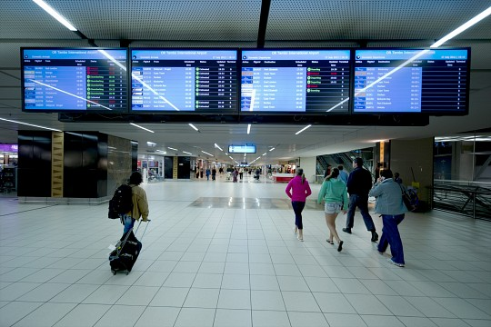 International Arrivals - O.