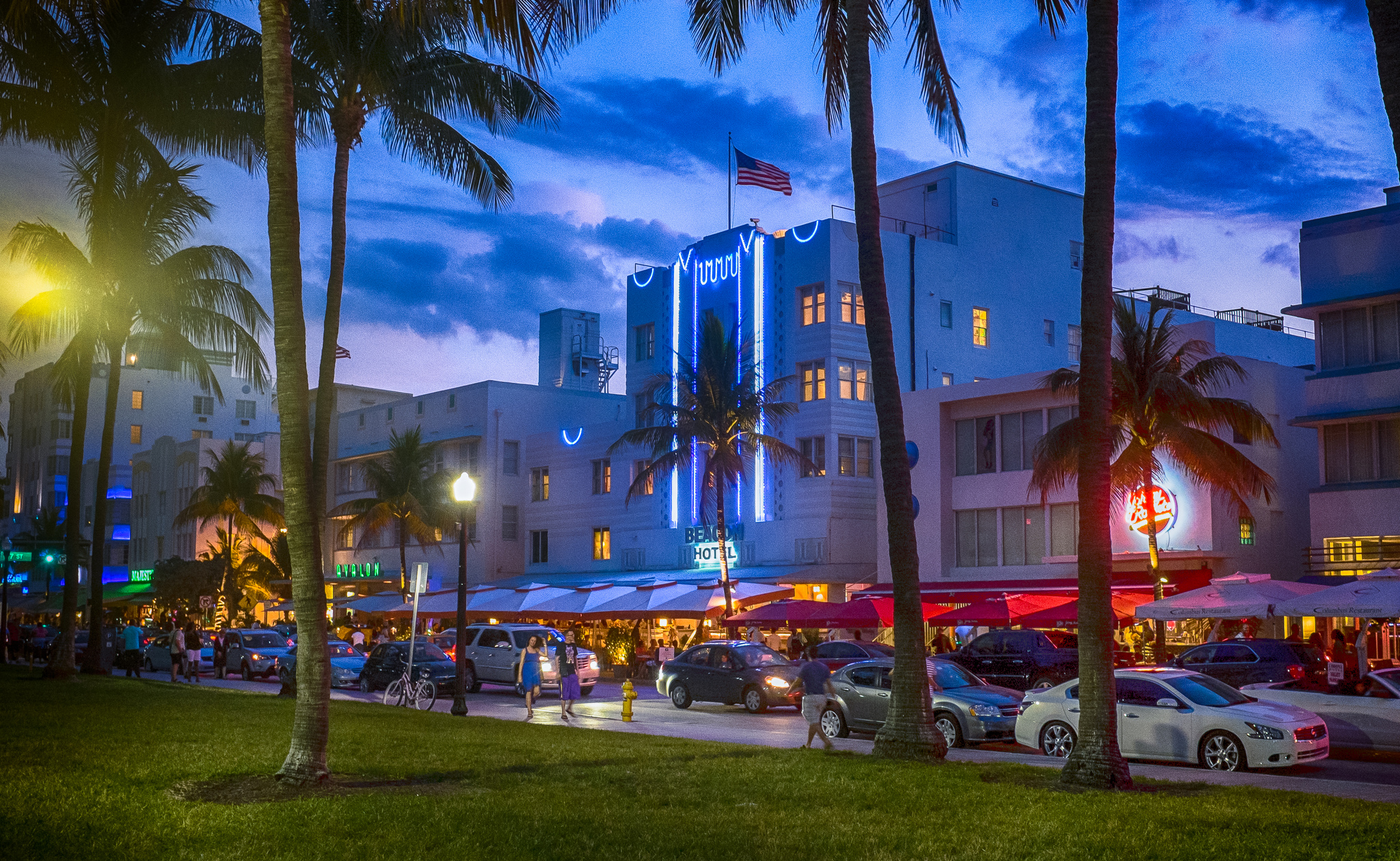 Ocean Drive Road In Miami Beach Thousand Wonders