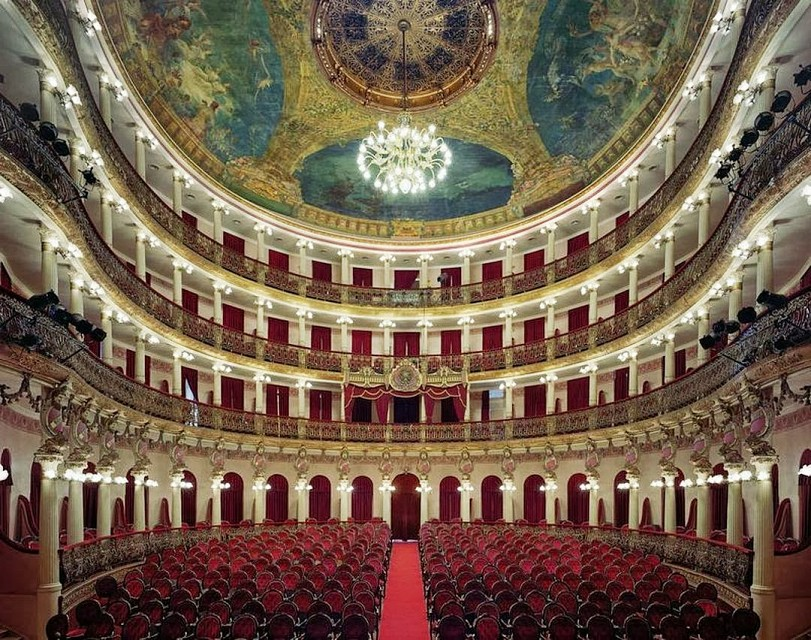 Odessa Opera and Ballet Theater. Opera House in Ukraine, Europe