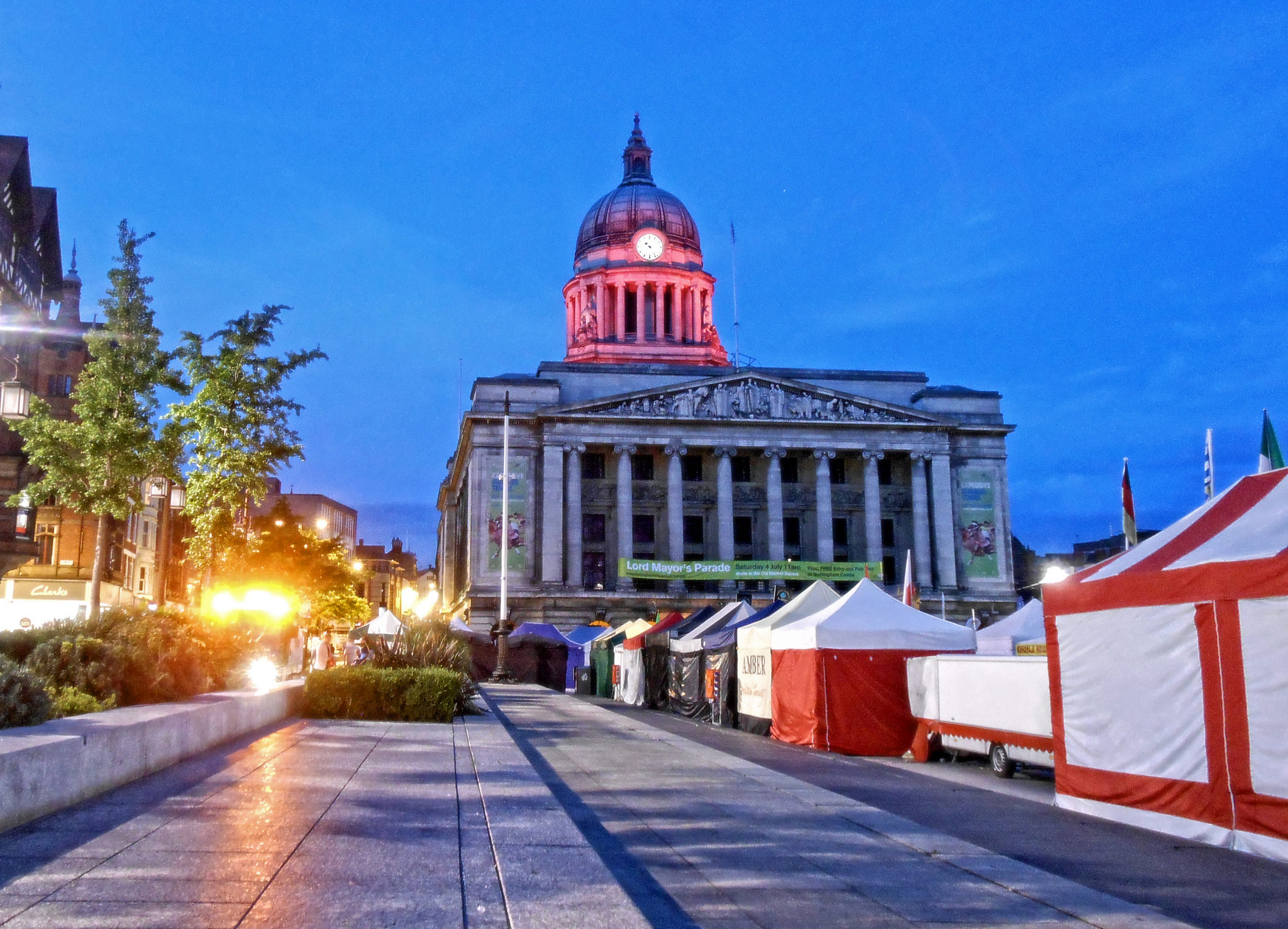 Old Market Square State Provincial Park In Nottingham Thousand Wonders
