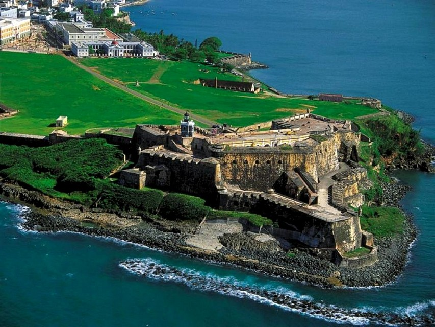 Old San Juan. Town in Puerto Rico, North America