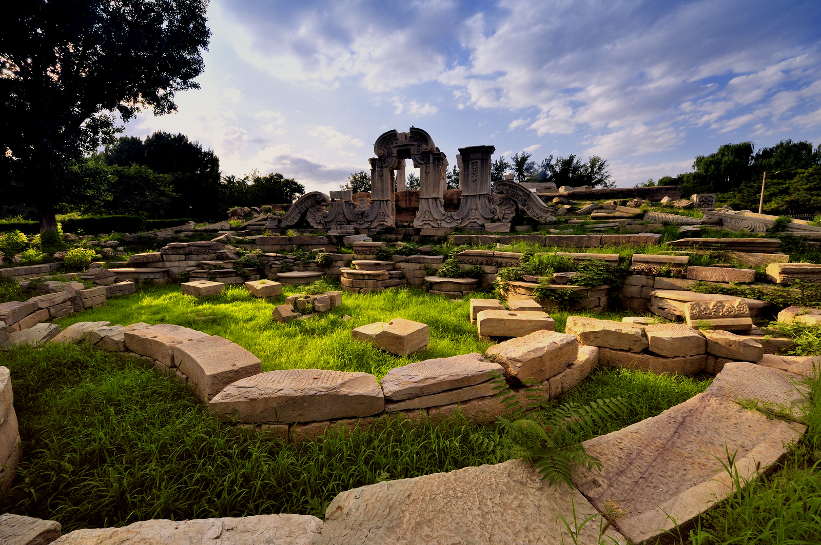 Old Summer Palace - Ruin in Beijing - Thousand Wonders