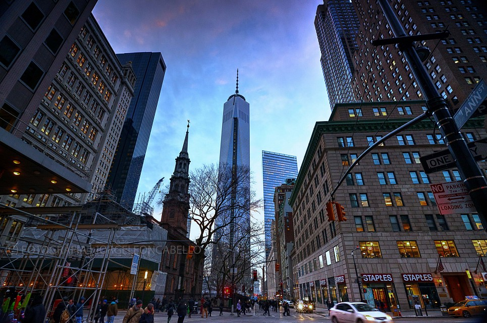 One World Trade Center (Ex Freedom Tower) - New York (USA) - One World Trade Center
