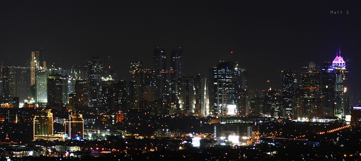 Ortigas at Night - Ortigas Center