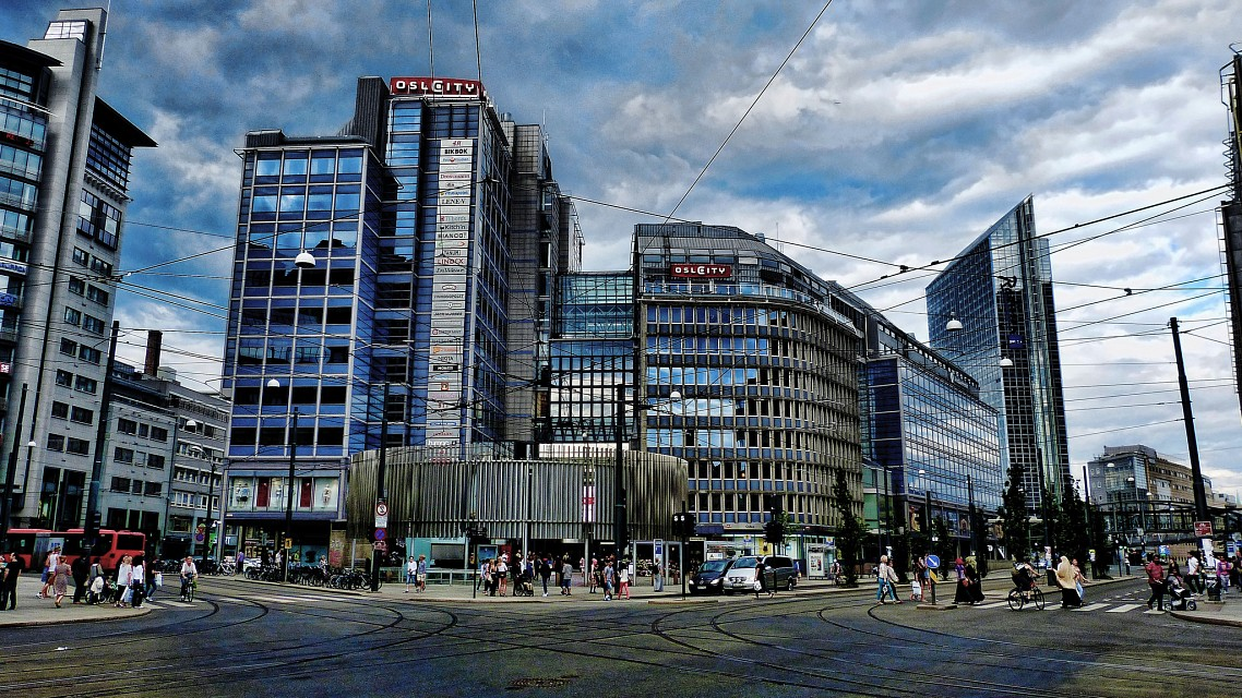 Oslo City - shopping mall -