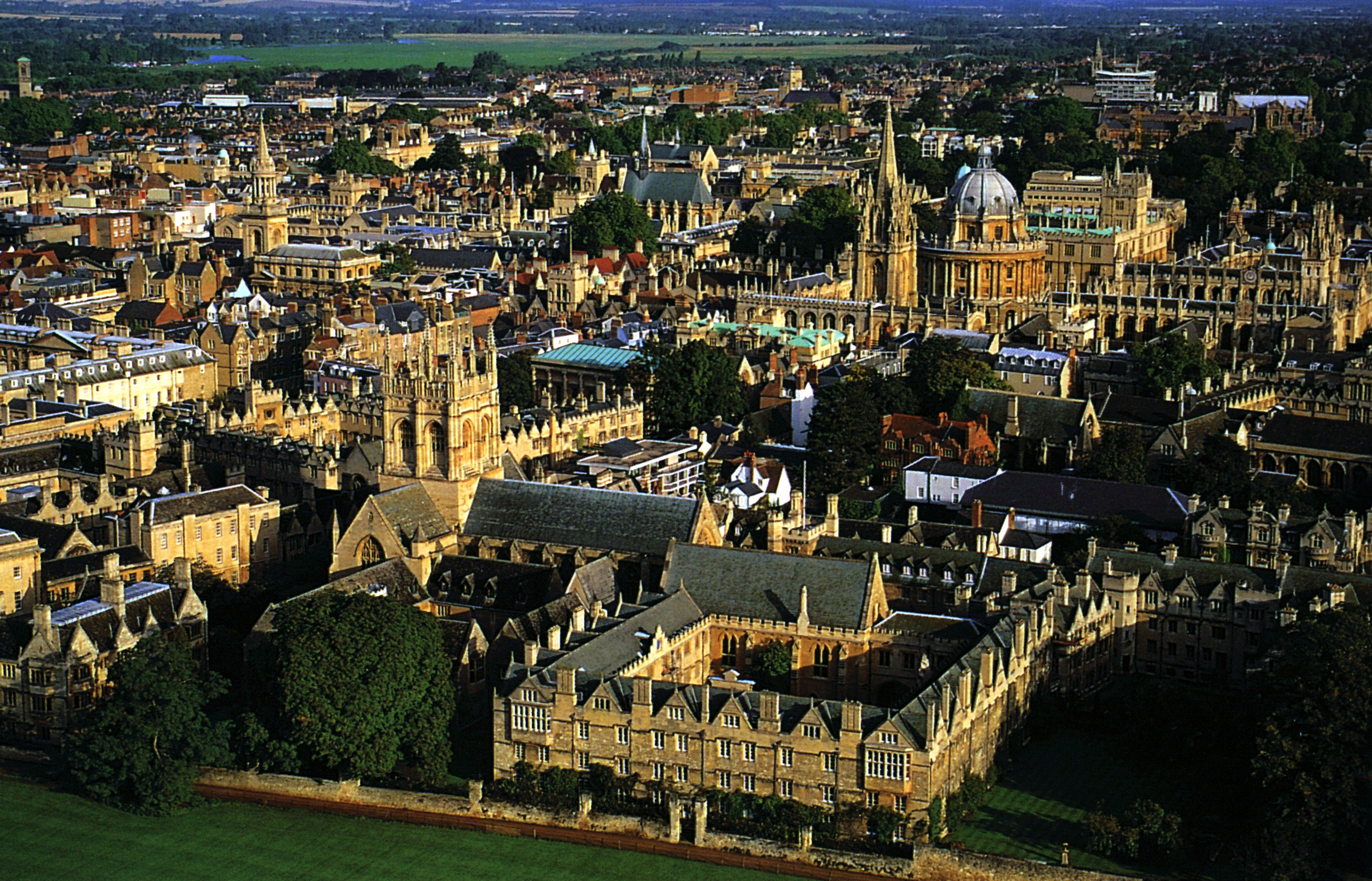 Oxford Town In England Thousand Wonders Oxoford