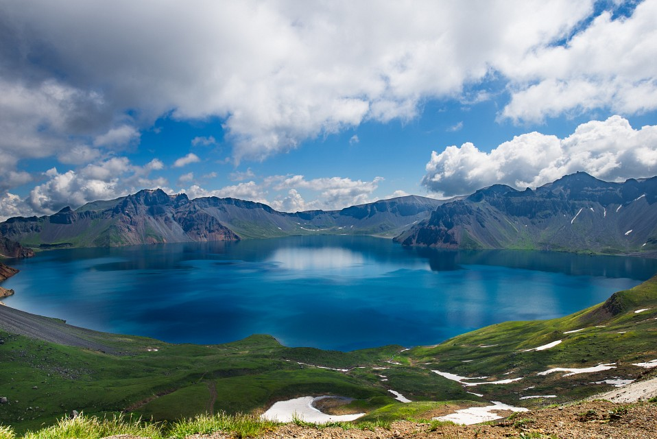 Paektu Mountain Volcano In China Thousand Wonders