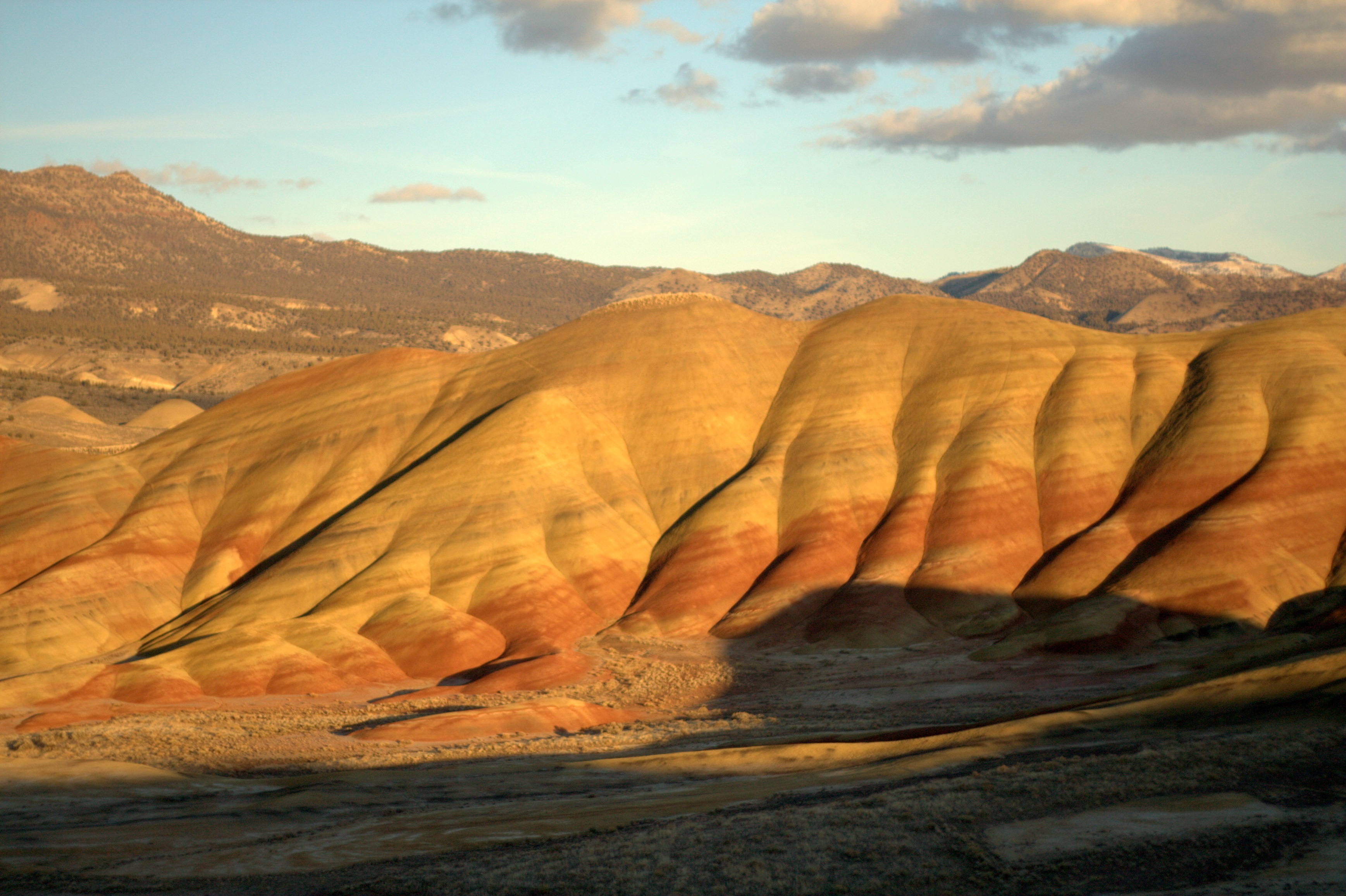 Painted Hills Mountain Range In Oregon Thousand Wonders