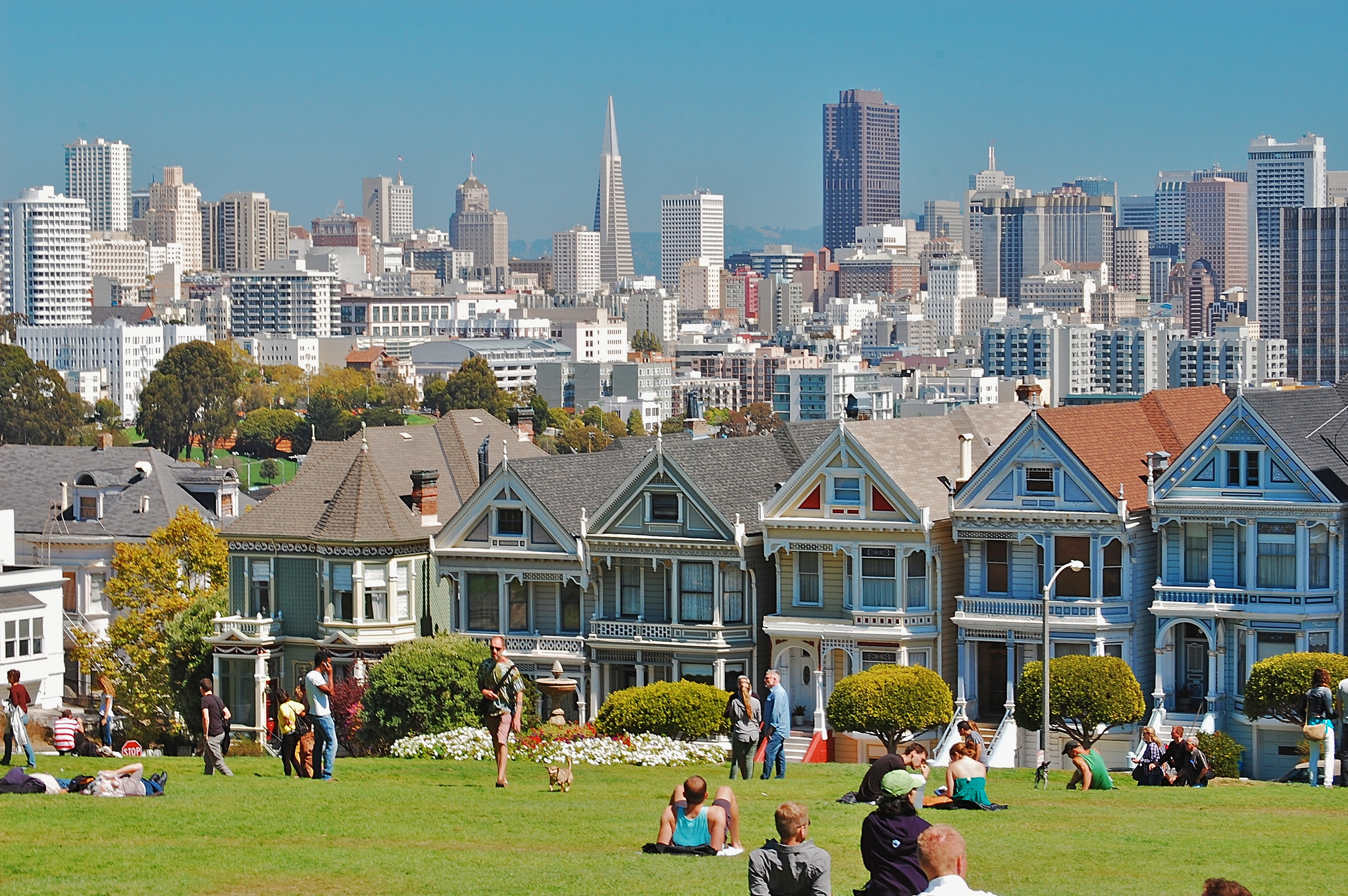 Painted Ladies Private Residence In San Francisco