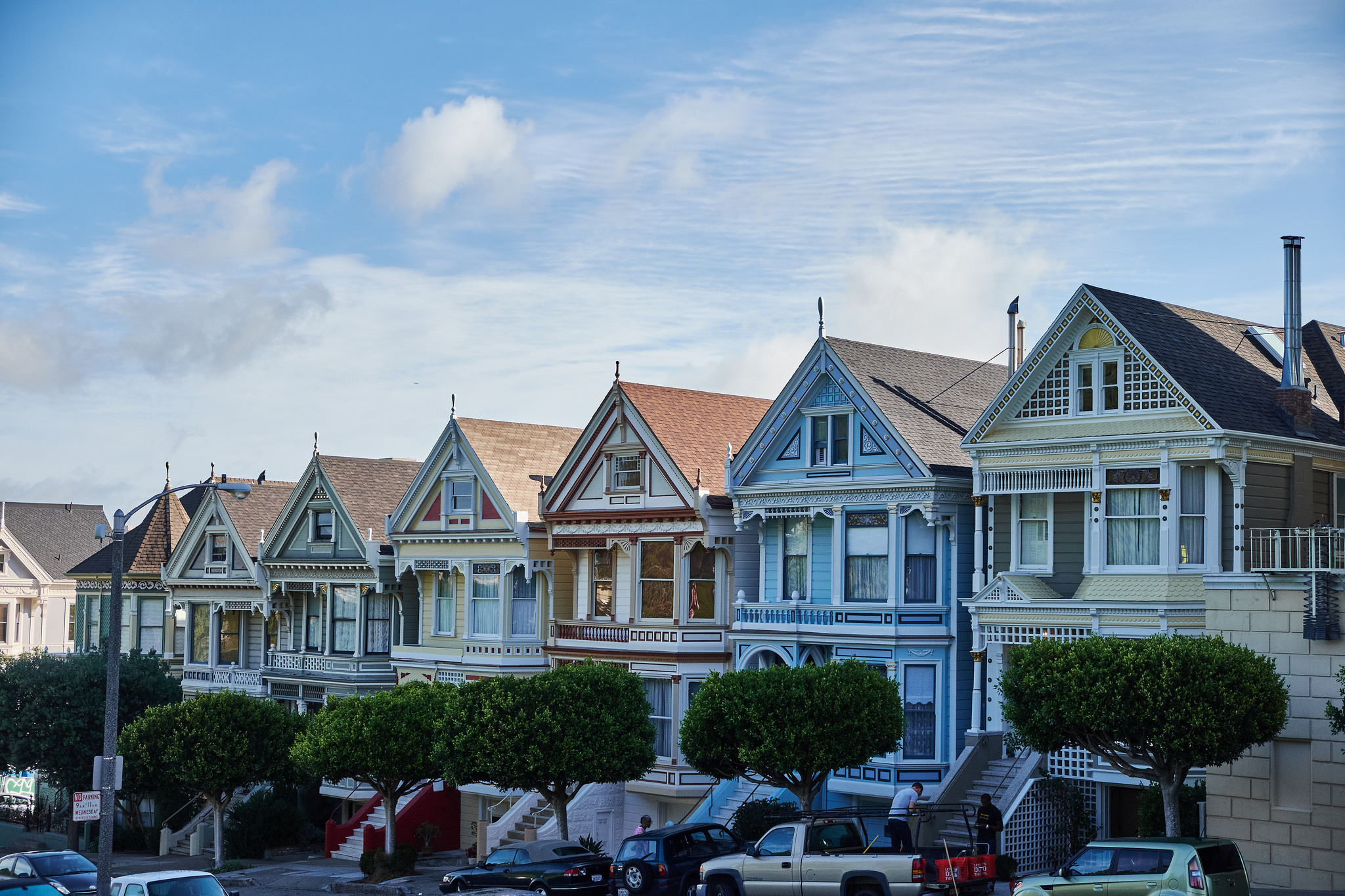 painted ladies private residence in san francisco thousand wonders. Black Bedroom Furniture Sets. Home Design Ideas
