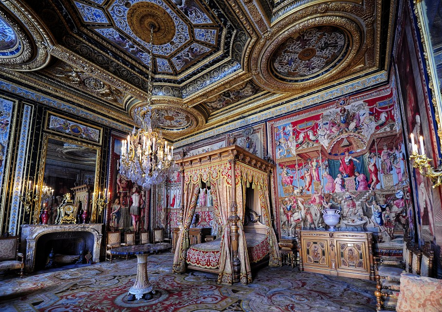 Anne of Austria's Bedchamber - Palace of Fontainebleau