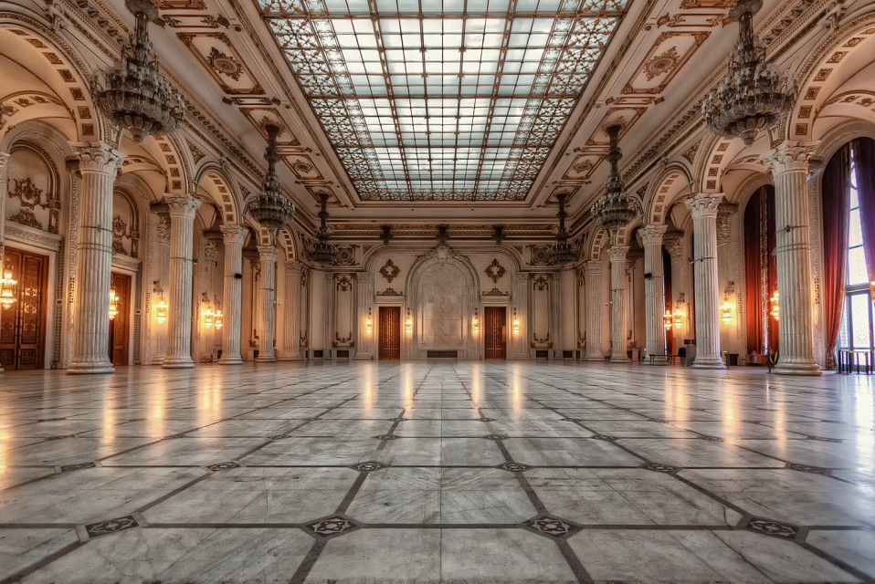 Bucharest's Palace of the Parliament – Ballroom | Romania - Palace of the Parliament