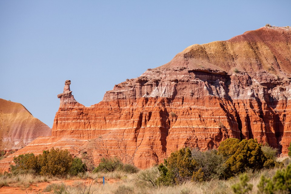 Palo Duro Canyon - The Lighthouse - Palo Duro Canyon State Park