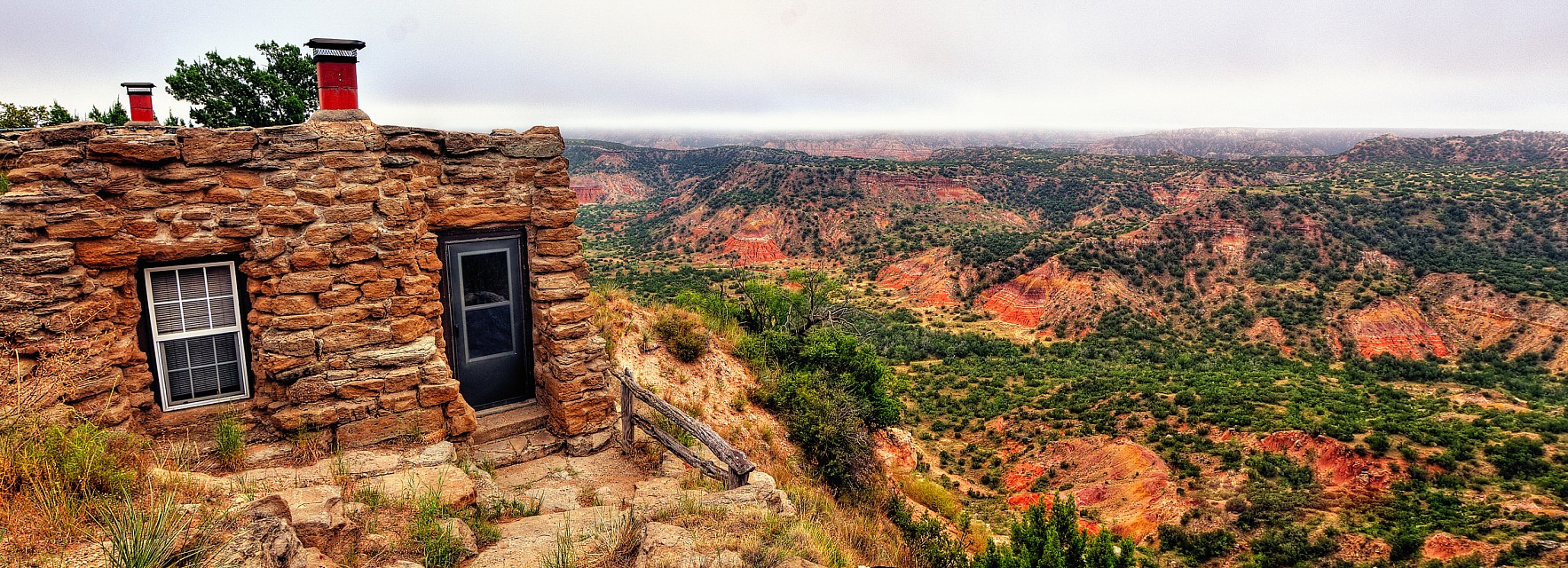 Room with a view - Palo Duro Canyon State Park