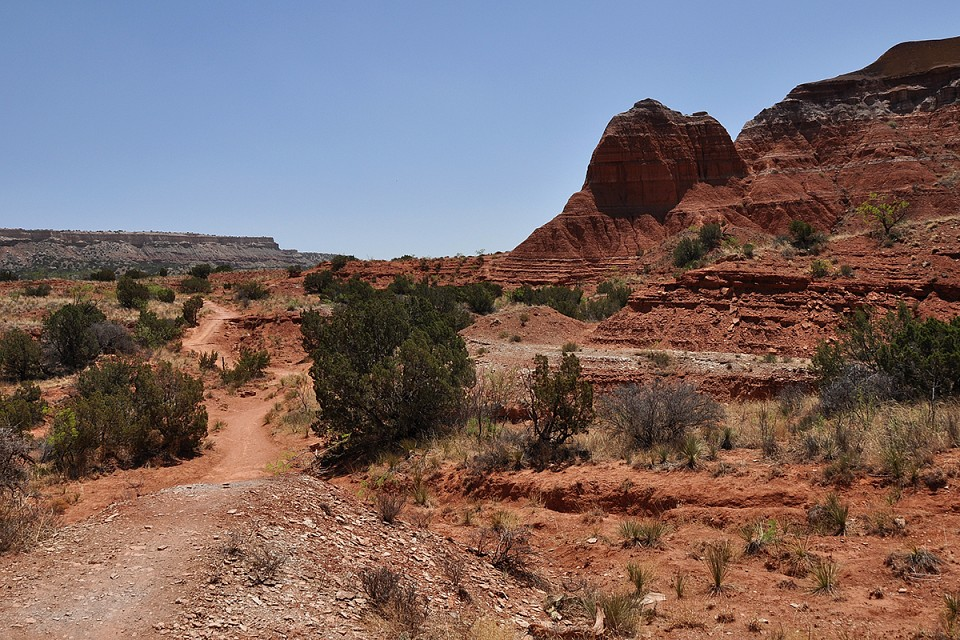 Palo Duro Canyon - Dirt Trail - Palo Duro Canyon State Park